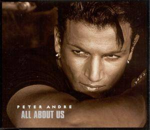 Cover - Peter André: All About Us