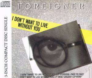Foreigner: I Don't Want To Live Without You - Cover