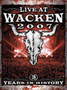 Live At Wacken 2007 - Cover