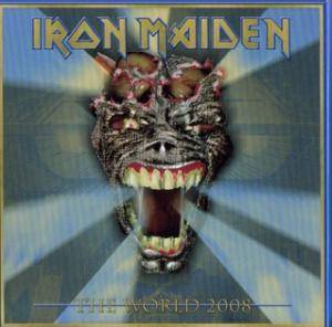Iron Maiden: World 2008, The - Cover