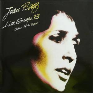 Joan Baez: Live Europe 83 - Children Of The Eighties - Cover