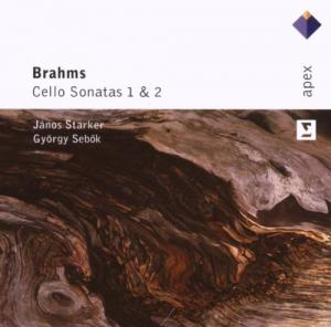 Johannes Brahms: Cello Sonatas 1 & 2 - Cover