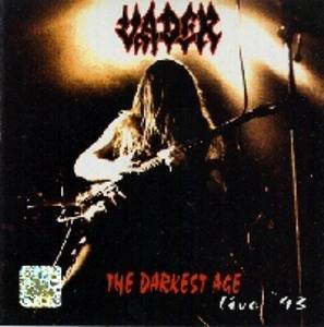 Vader: Darkest Age - Live '93, The - Cover