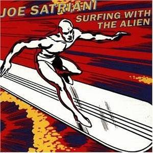Cover - Joe Satriani: Surfing With The Alien