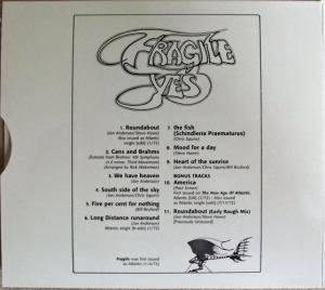 Yes: Fragile (CD) - Bild 4
