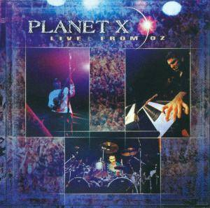 Cover - Planet X: Live From Oz