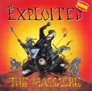 Cover - Exploited, The: Massacre, The