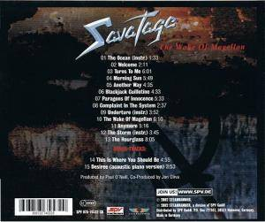 Savatage: The Wake Of Magellan (CD) - Bild 4