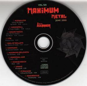 Metal Hammer - Maximum Metal Vol. 128 (CD) - Bild 3