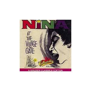 Nina Simone: Nina At The Village Gate - Cover