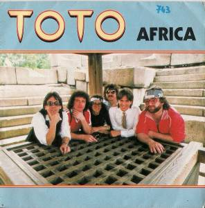 Toto: Africa - Cover