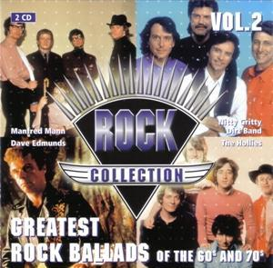 Rock Collection Vol. 02 - Greatest Ballads Of The 60s & 70s - Cover