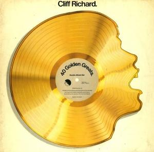 Cliff Richard: 40 Golden Greats - Cover