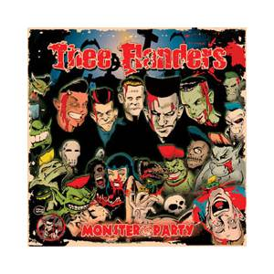 Cover - Thee Flanders: Monsterparty