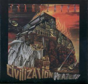 Frank Zappa: Civilization Phaze III - Cover