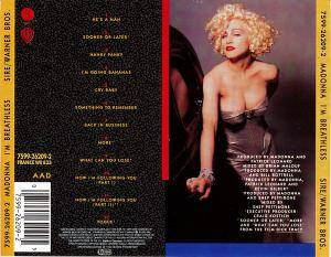 "Madonna: I'm Breathless - Music From And Inspired By The Film ""Dick Tracy"" (CD) - Bild 2"