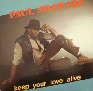 Cover - Paul Sharada: Keep Your Love Alive