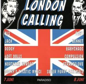 London Calling Volume 1 Juni 1996 - Cover