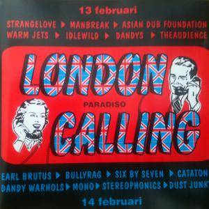 London Calling Volume 4 - Cover