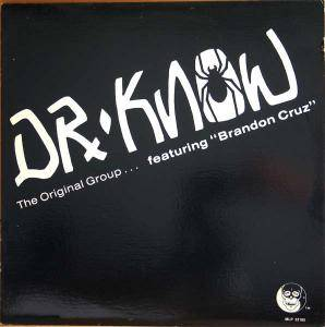 Cover - Dr. Know: Original Group, The