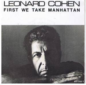Leonard Cohen: First We Take Manhattan - Cover