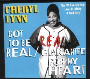 Cheryl Lynn: Got To Be Real / Guarantee For My Heart - Cover