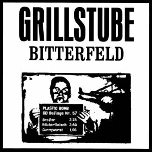 Cover - Sir William Hills, The: Plastic Bomb CD Beilage 57 - Grillstube Bitterfeld