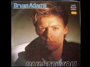 Bryan Adams: Run To You - Cover