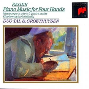 Max Reger: Piano Music For Four Hands - Cover