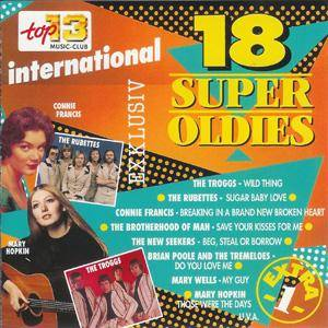 Cover - Ad Libs, The: 18 Super Oldies International