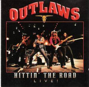 Outlaws: Hittin' The Road Live! - Cover
