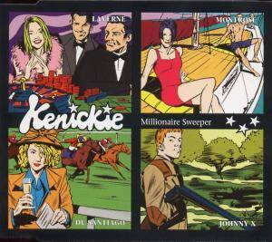 Cover - Kenickie: Millionaire Sweeper