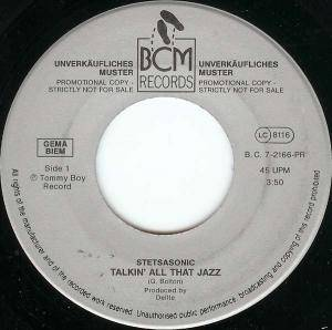 Cover - Stetsasonic: Talkin' All That Jazz