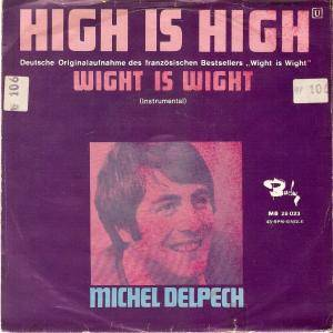 Cover - Michel Delpech: High Is High