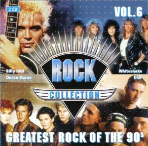 Cover - Alien: Rock Collection Vol. 06 - Greatest Rock Of The 90s