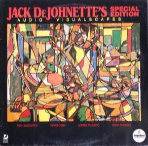 Cover - Jack DeJohnette: Audio-Visualscaped