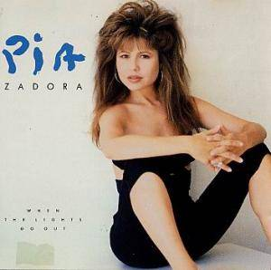 Cover - Pia Zadora: When The Lights Go Out