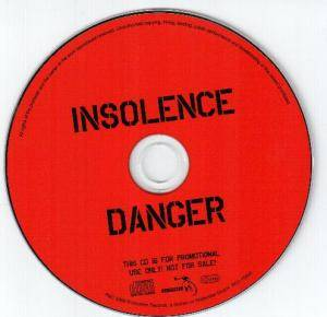 Cover - Insolence: Danger