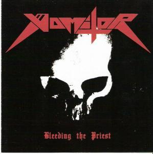 Vomitor: Bleeding The Priest - Cover
