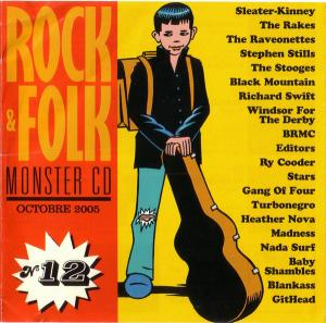 Monster CD N° 12 - Cover