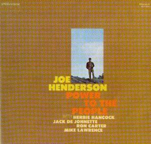 Cover - Joe Henderson: Power To The People