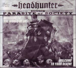Cover - Headhunter: Parasite Of Society