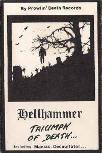 Hellhammer: Triumph Of Death - Cover