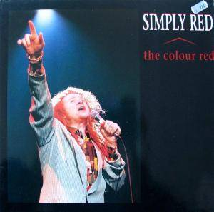 Simply Red: Colour Red, The - Cover