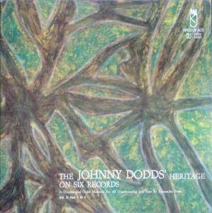 Cover - Johnny Dodds And His Orchestra: Johnny Dodds' Heritage On Six Records Vol. 3, The