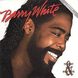 Barry White: Right Night & Barry White, The - Cover