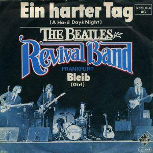 Cover - Beatles Revival Band, The: Ein Harter Tag (A Hard Day's Night)