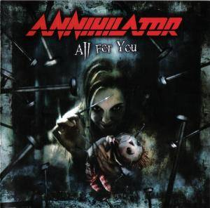 Annihilator: All For You - Cover