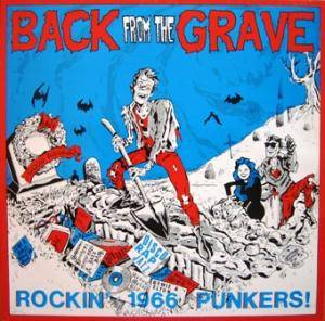 Back From The Grave - Rockin' 1966 Punkers! - Cover