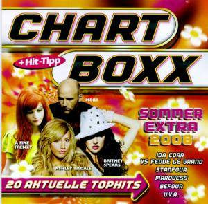 Cover - King Family: Chartboxx - Sommer Extra 2008